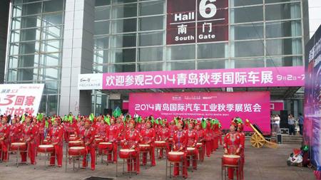 在精彩展示之余,2014青岛秋季国际车展还吸引了广汽丰田,双龙等品牌的